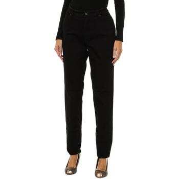 Vêtements Femme Jeans slim Armani jeans Pantalon long Noir