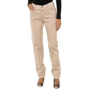 Vêtements Femme Jeans droit Armani jeans Pantalon long Beige