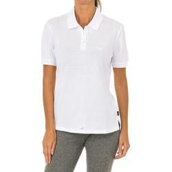Vêtements Femme Polos manches courtes Armani jeans Polo manches courtes Blanc