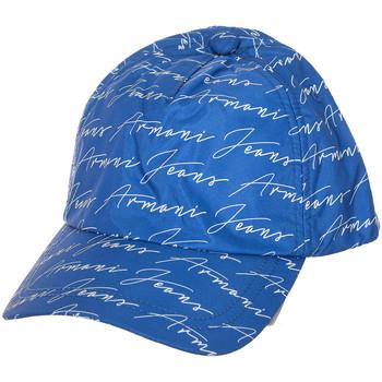 Accessoires textile Homme Casquettes Armani jeans Casquette Bleu