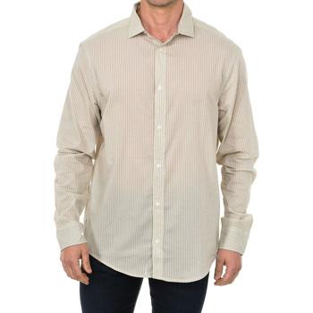 Vêtements Homme Chemises manches longues Armani jeans Chemise à manches longues Beige