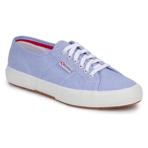 Chaussures Baskets basses Superga 2750 COTUSHIRT Bleu clair