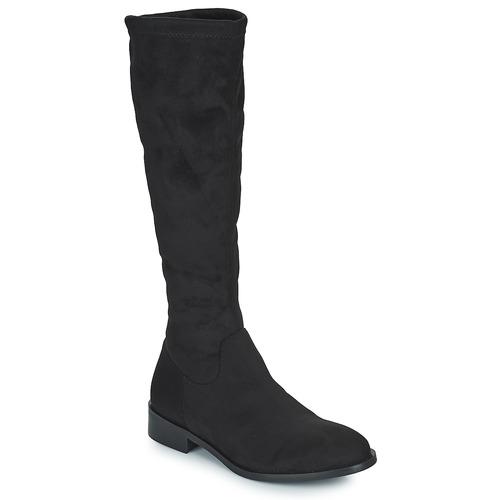 Chaussures Femme Bottes ville JB Martin AMOUR Noir