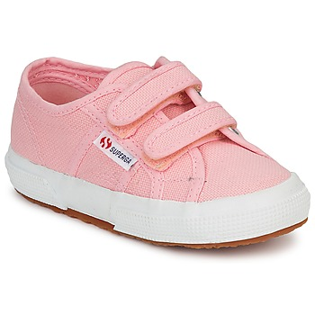 Chaussures Fille Baskets basses Superga 2750 STRAP Rose