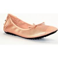 Chaussures Femme Ballerines / babies Suredelle E618 CHAMPAGNE ROSE METAL