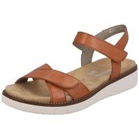Chaussures Femme Sandales et Nu-pieds Remonte Dorndorf Nu pieds D2050 Marron