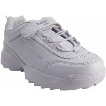 Chaussures Fille Baskets basses Bubble Bobble Deporte niño  a3225 blanco Blanc