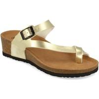 Chaussures Femme Pantalons fluides / Sarouels Silvian Heach M-28 Oro