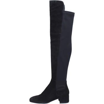 Chaussures Femme Cuissardes Elvio Zanon BJ808 Noir