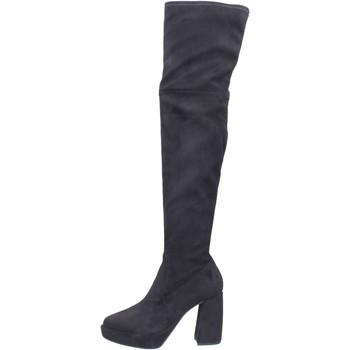 Chaussures Femme Cuissardes Elvio Zanon BJ810 Noir