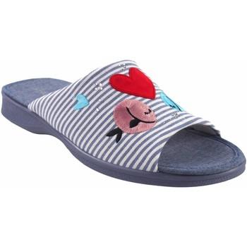 Chaussures Femme Chaussons Garzon maison Mme  2543.161 bleu Rouge