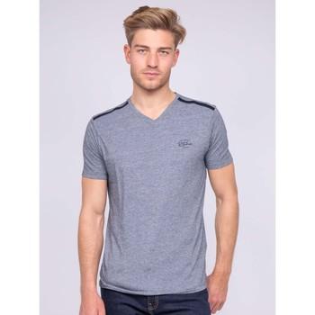 Vêtements T-shirts & Polos Ritchie T-shirt col V pur coton NOGLAS Gris