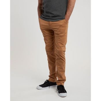 Vêtements Homme Chinos / Carrots Element Howland Classic Chino Bronco Brown