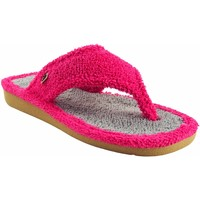 Chaussures Femme Tongs Berevere maison Mme  v 8002 fuxia Gris