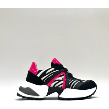 Chaussures Femme Baskets basses Alexander Smith MARBLE fuxia