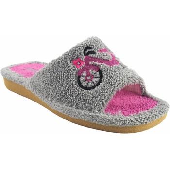 Chaussures Femme Mules Berevere maison lady  v 1006 gris Gris