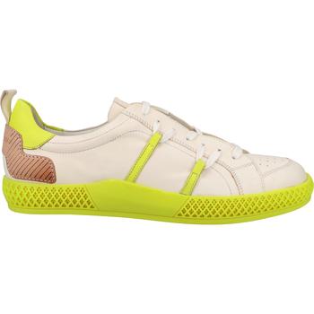 Chaussures Homme Baskets mode Melvin & Hamilton Sneaker Weiß/Gelb