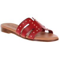 Chaussures Femme Mules Eva Frutos 9177 Rouge