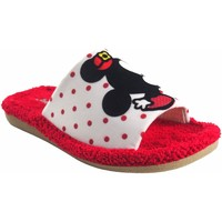 Chaussures Fille Mules Berevere maison fille  v 1015 bl.roj Rouge