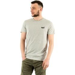 Vêtements Homme T-shirts manches courtes Superdry ol vintage emb 9st silver glass feeder gris