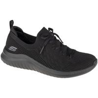 Chaussures Femme Baskets basses Skechers Ultra Flex 2.0 Flash Illusion Noir