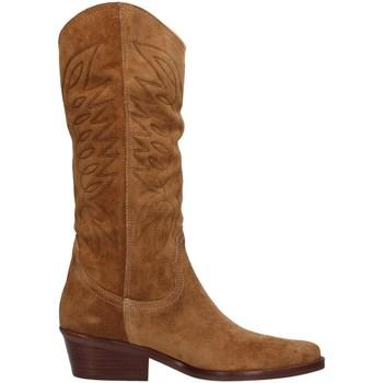 Chaussures Femme Bottes ville Dakota Boots DKT67 MARRON