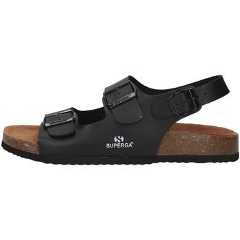 Chaussures Homme Sandales et Nu-pieds Superga S11G046 NOIR