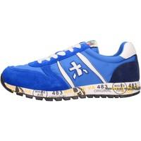 Chaussures Garçon Baskets basses Premiata - Sneaker azzurro 12-38001 AZZURRO