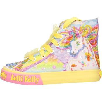 Chaussures Fille Baskets montantes Lelli Kelly - Unicorn multi giallo LK 9090-BQ02 GIALLO