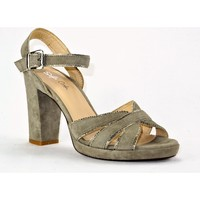 Chaussures Femme Sandales et Nu-pieds Sofia Costa 5883 TAUPE OR