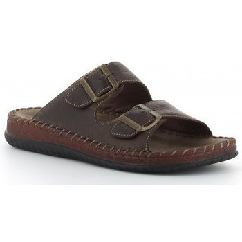Chaussures Homme Mules Walk & Fly 9289-13190 Marron