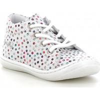 Chaussures Fille Baskets montantes Bellamy Princesse Bubble blanc multi