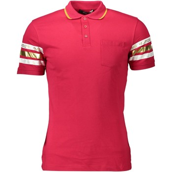 Vêtements Homme Polos manches courtes Roberto Cavalli GST677 rouge 02000 ROSSO