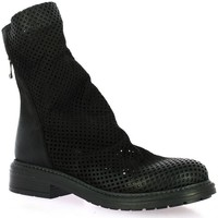 Chaussures Femme Boots Metisse Boots cuir nubuck Noir