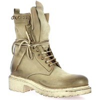 Chaussures Femme Boots Metisse Boots cuir nubuck Taupe