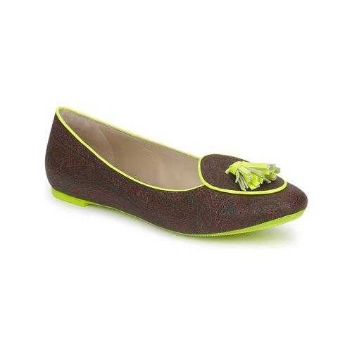 Chaussures Femme Ballerines / babies Etro BALLERINE 3738 Marron