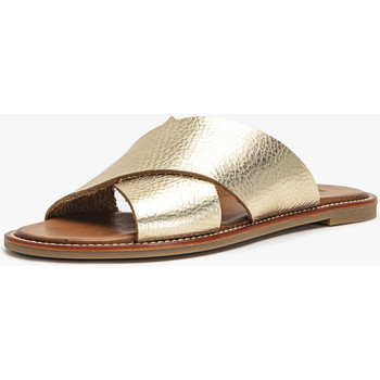 Chaussures Femme Sabots Inuovo Mules Gold