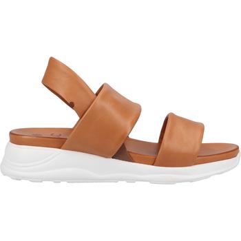 Chaussures Femme Sandales et Nu-pieds Ilc Sandales Cognac