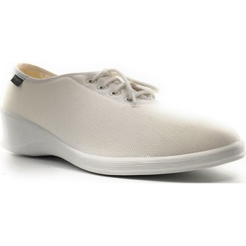 Chaussures Femme Chaussons Fargeot DANY Blanc