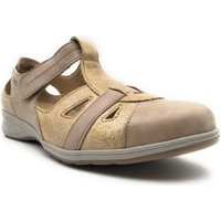 Chaussures Femme Mocassins Suave 7539PS Or