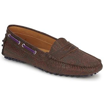 Chaussures Femme Mocassins Etro MOCASSIN 3706 Violet