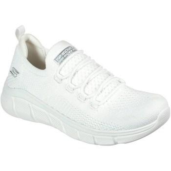 Chaussures Femme Baskets basses Skechers Bobs Sport B Flex Blanc