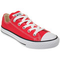 Converse Junior Red All Star Ox Trainers