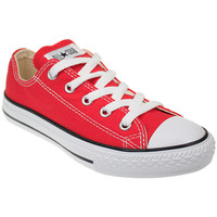 Chaussures Garçon Baskets basses Converse Junior Red All Star Ox Trainers Converse_127