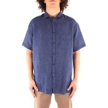 Vêtements Homme Chemises manches courtes Trussardi 52C00213 1T002248 BLEU MARIN