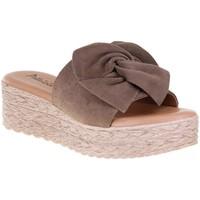 Chaussures Femme Mules Millennials 3225 Taupe