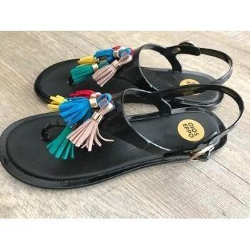 Chaussures Femme Sandales et Nu-pieds Gioseppo Nu-pieds Gioseppo Noir