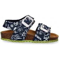 Chaussures Garçon Sandales et Nu-pieds Garvalin 54897 bleu