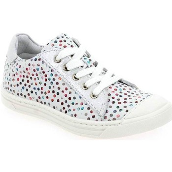 Chaussures Fille Baskets basses Bellamy Ormi Bubble blanc multi