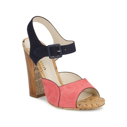 Chaussures Femme Sandales et Nu-pieds John Galliano AN3571 Rose / Marine